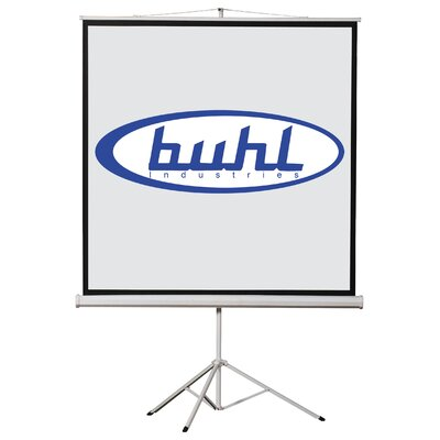 "Buhl 60"" x 60"" Projector Screen - 1:1 Format"