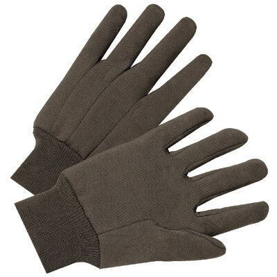 Anchor 1000 Series Jersey Gloves - 4503 9 oz brown jersey cotton glove