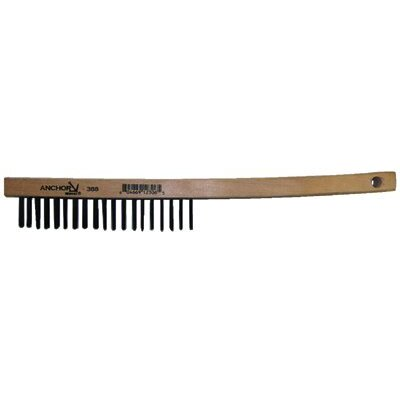 Anchor Hand Scratch Brushes - carbon steel curved handle brush