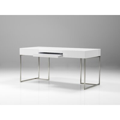 Oma Office Desk with Stainless Steel Base