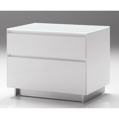 Mobital Savvy 2 Drawer Nightstand