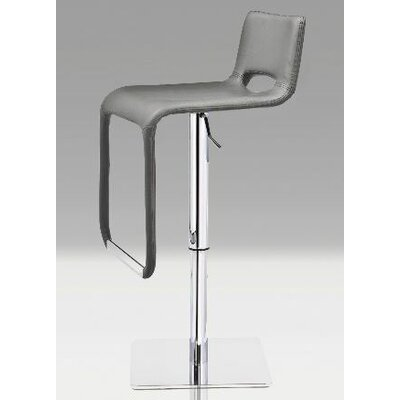 Mobital Azure Hydraulic Leatherette Bar Stool with Steel Base