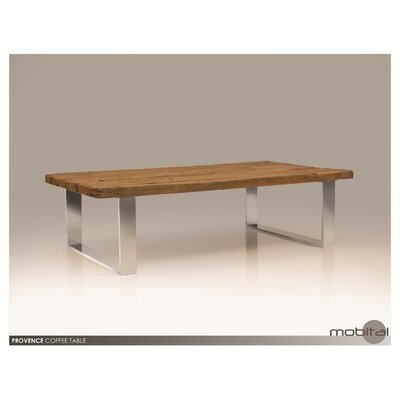 Mobital Provence Reclaimed Pine Wood Coffee Table Set