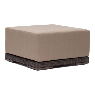 dCOR design Park Island Ottoman with Cushion