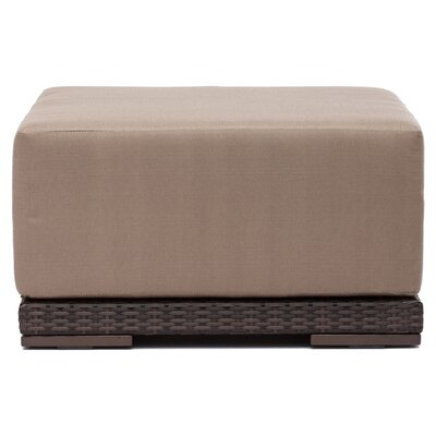 <strong>dCOR design</strong> Park Island Ottoman with Cushion