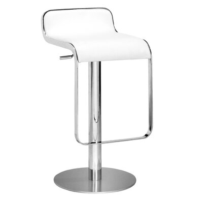 dCOR design Equino Stool in White