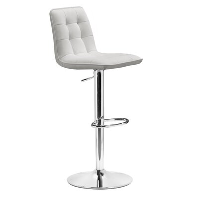 dCOR design Gen Barstool in White