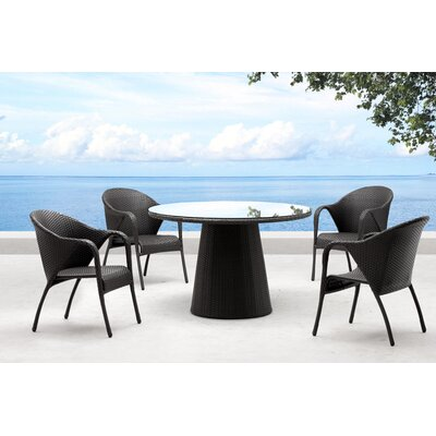 dCOR design Avalon 5 Piece Dining Set