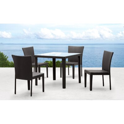 dCOR design Cavedish Outdoor Square Dining Table