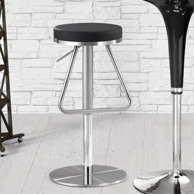 dCOR design Soda Swivel Adjustable Bar Stool