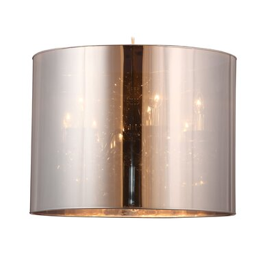 dCOR design 5 Light Drum Foyer Pendant