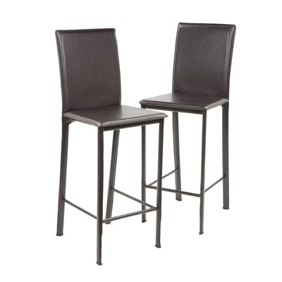 dCOR design Cane Bar Chair in Espresso