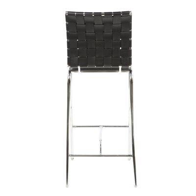 dCOR design Cross Counter Stool in Black