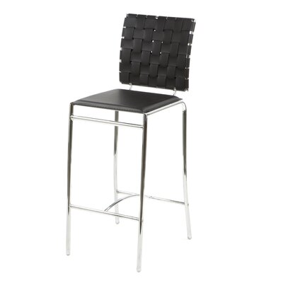 "dCOR design Criss Cross 26"" Bar Stool"