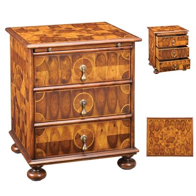 Encore IHF 3 Drawer Nightstand