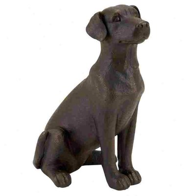 Woodland Imports Polystone Table Top Dog Statue