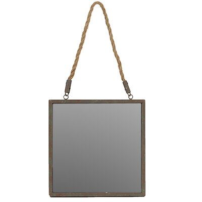 Square Shaped Easy Handle Mirror