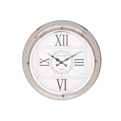 The Modern Stainless Steel Wall Clock