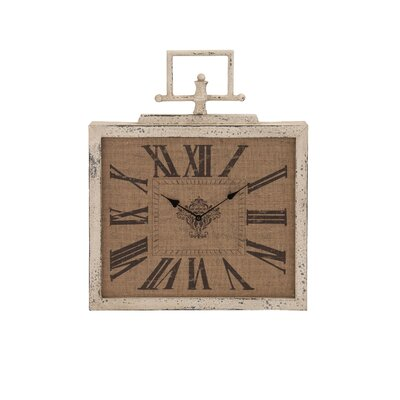 Contemporary Attractive Metal Wall Clock