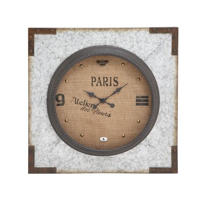 Incredible Unique Styled Metal Wall Clock