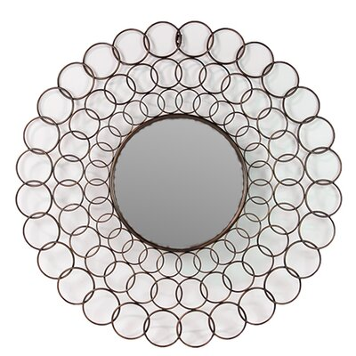 Metallic Frame Wall Mirror