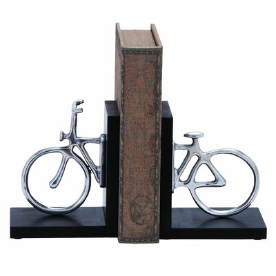 Woodland Imports Cycle Book Ends