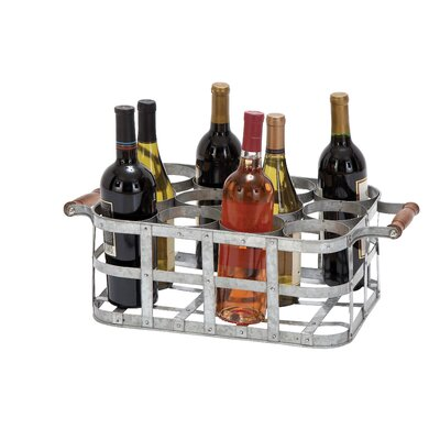 Woodland Imports Sonoma 12 Bottle Tabletop Wine Rack
