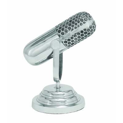 Woodland Imports Trophy Microphone Sculpture