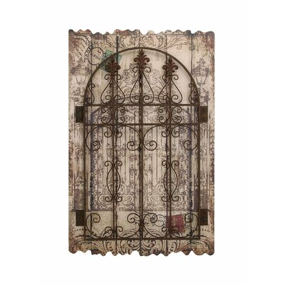 Woodland Imports Rustic Intricated Wall Décor