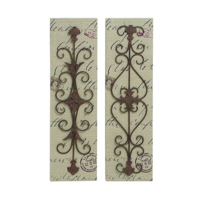Woodland Imports Canvas Wall Décor (Set of 2)