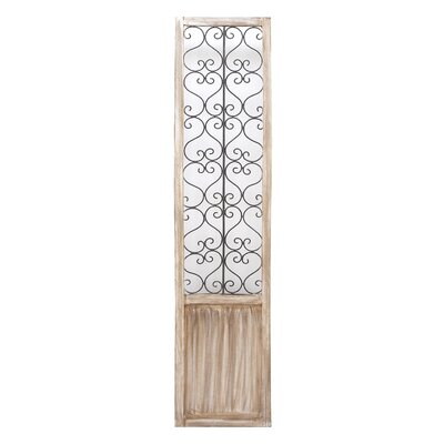 Wood Metal Wall Panel