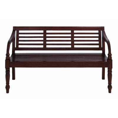 Woodland Imports Wooden Entryway Bench