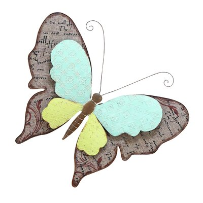 Scrapbook Butterfly Décor