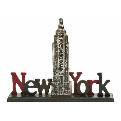Woodland Imports New York Tourist Empire State Building Table Décor