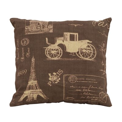 Paris Lifestyle Theme Pillow