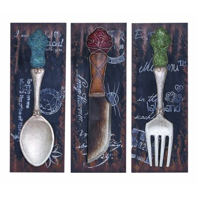 Woodland Imports Flatware and Dinner Décor (Set of 3)