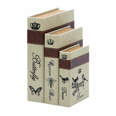 Nature Garden Themed Book Box (Set of 3)