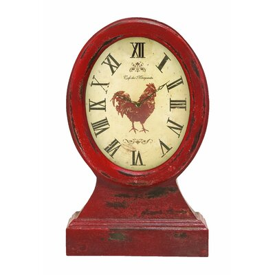 Vintage Farmer Table Top Clock