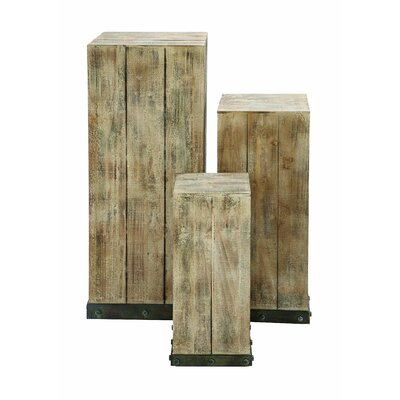 Pedestal Plant Stand (Set of 3)