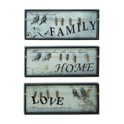 Woodland Imports Inspirational Wall Plaque