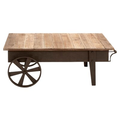 Woodland Imports Metal Coffee Table