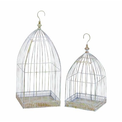 Victorian Bird Cage (Set of 2)
