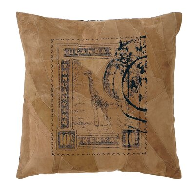 Leather Decorative Pillow