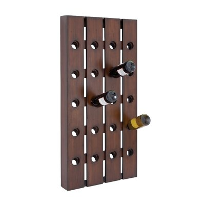 Woodland Imports 20 Bottle Wine Rack