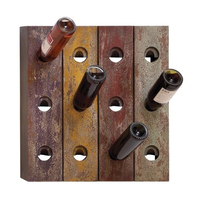 12 Bottle Wall Mount Wine Rack