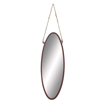 Metal Rope Geometric Wall Mirror