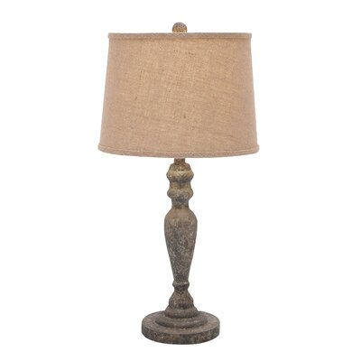 Wood Table Lamps : Woodland Imports Classic Solid Wooden Table Lamp