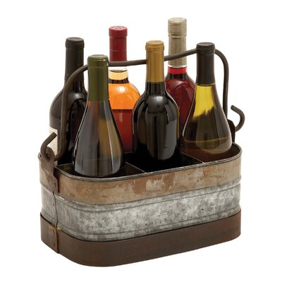 6 Bottle Hanging Wine Holder