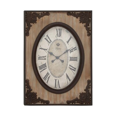 Woodland Imports Country Style Wall Clock