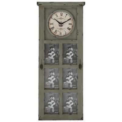 Rustic and Stately Design Wall Clock
